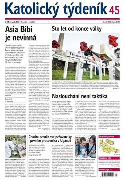Katolický týdeník - 45/2018 - Elektronické noviny