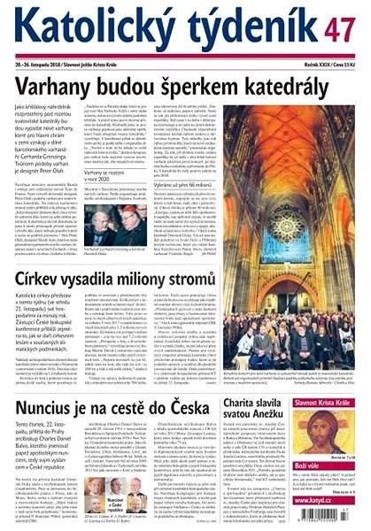 Katolický týdeník - 47/2018 - Elektronické noviny