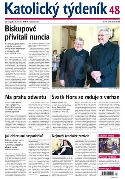 Katolický týdeník - 48/2018 - Elektronické noviny