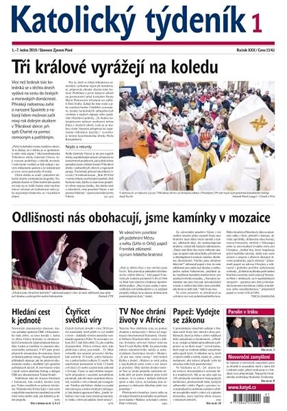 Katolický týdeník - 1/2019 - Elektronické noviny