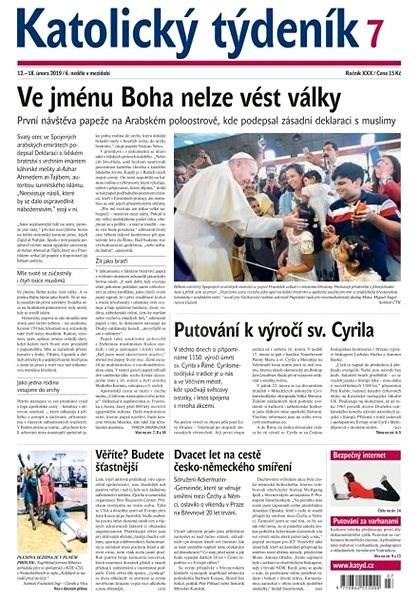 Katolický týdeník - 7/2019 - Elektronické noviny