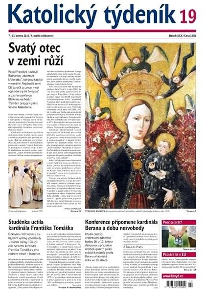 Katolický týdeník - 19/2019 - Elektronický časopis