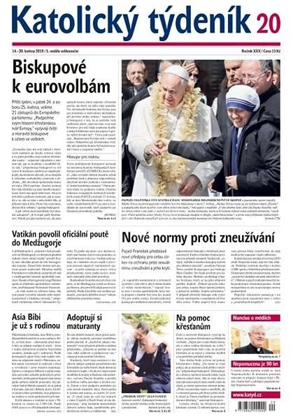 Katolický týdeník - 20/2019 - Elektronický časopis