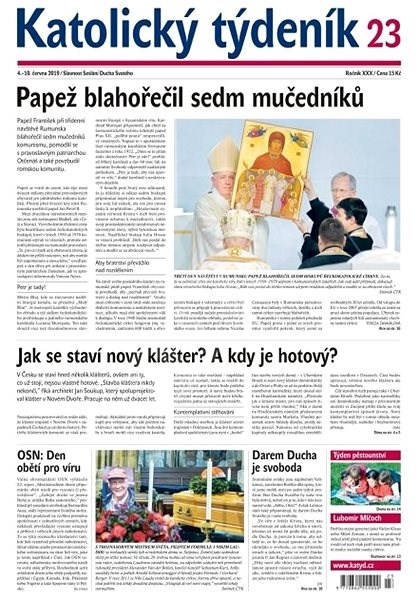Katolický týdeník - 23/2019 - Elektronický časopis