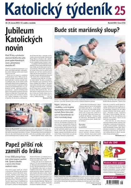 Katolický týdeník - 25/2019 - Elektronický časopis