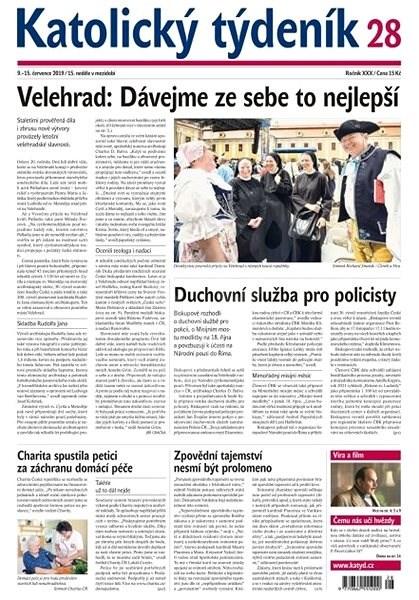 Katolický týdeník - 28/2019 - Elektronický časopis