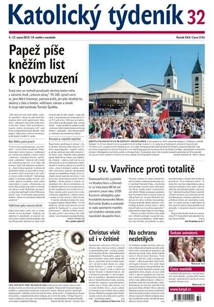 Katolický týdeník - 32/2019 - Elektronický časopis
