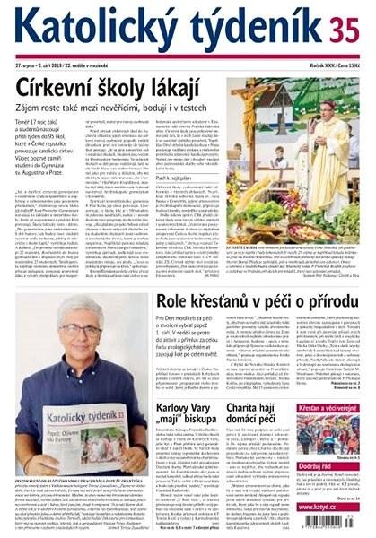 Katolický týdeník - 35/2019 - Elektronický časopis