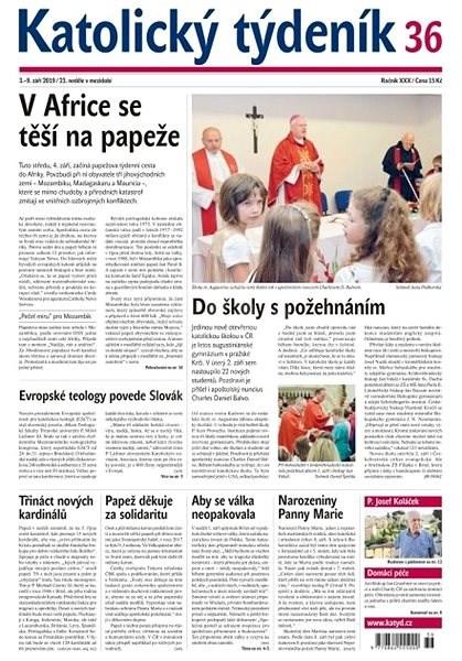 Katolický týdeník - 36/2019 - Elektronický časopis