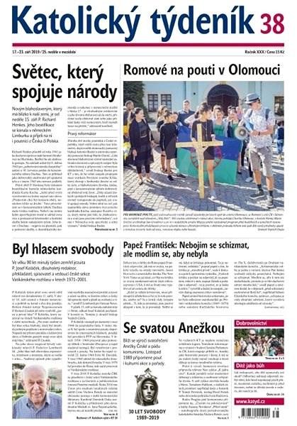Katolický týdeník - 38/2019 - Elektronický časopis