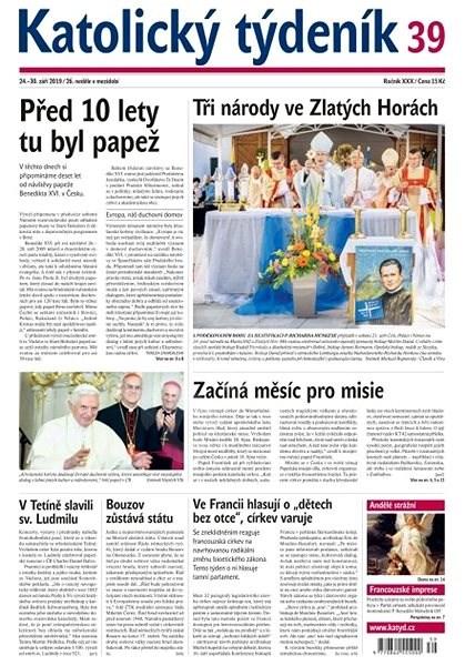 Katolický týdeník - 39/2019 - Elektronický časopis