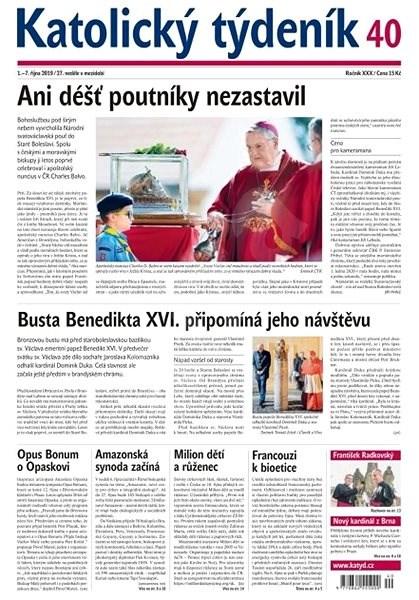 Katolický týdeník - 40/2019 - Elektronický časopis