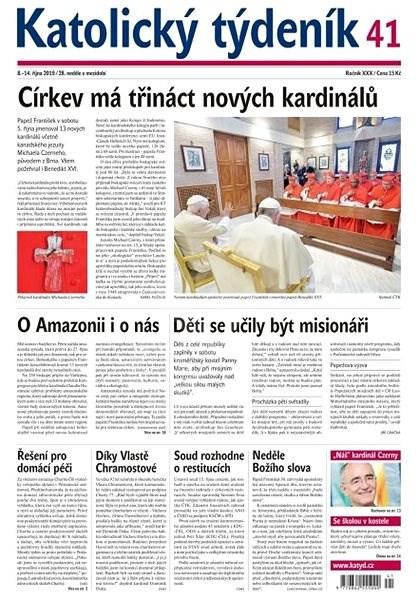 Katolický týdeník - 41/2019 - Elektronický časopis