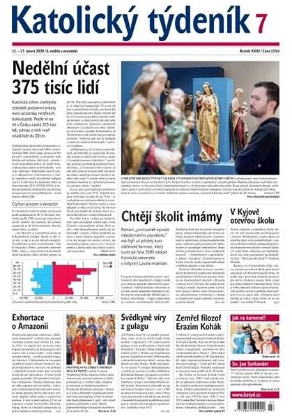 Katolický týdeník - 7/2020 - Elektronický časopis