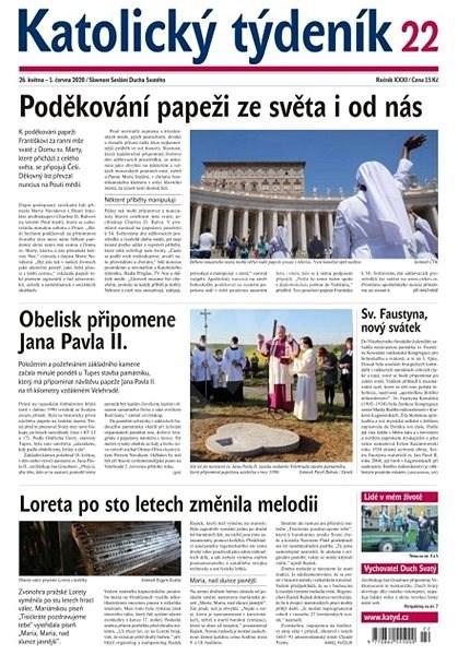 Katolický týdeník - 22/2020 - Elektronický časopis