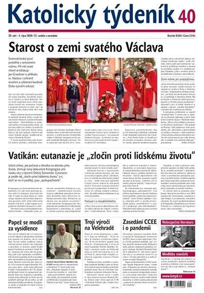 Katolický týdeník - 40/2020 - Elektronické noviny