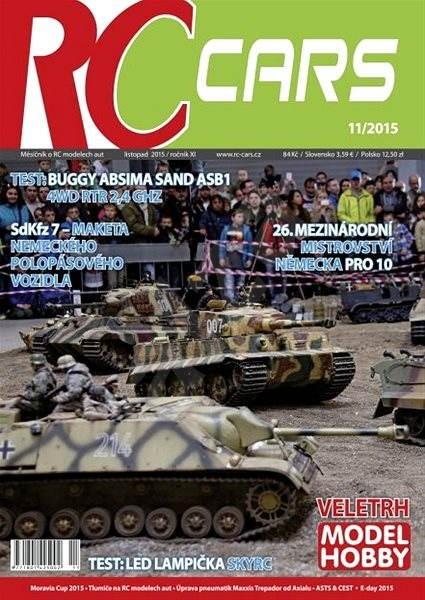 RC cars - 11/2015 - Elektronický časopis