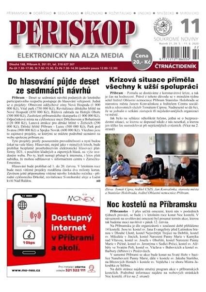 Periskop - číslo 11 - 5/2020 - Elektronické noviny