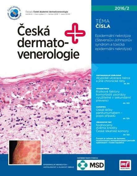 Česká dermatovenerologie - 2/2016 - Elektronický časopis