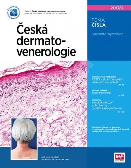 Česká dermatovenerologie - 2/2017 - Elektronický časopis
