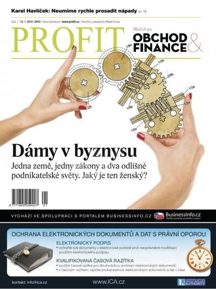 Profit - 1/2014 - Elektronický časopis