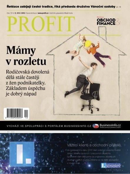 Profit - 12/2014 - Elektronický časopis