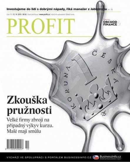 Profit - 10/2015 - Elektronický časopis