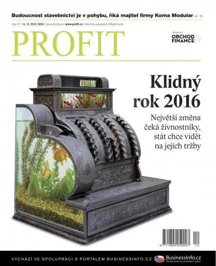 Profit - 12/2015 - Elektronický časopis