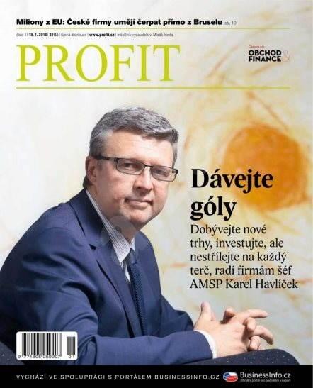 Profit - 1/2016 - Elektronický časopis