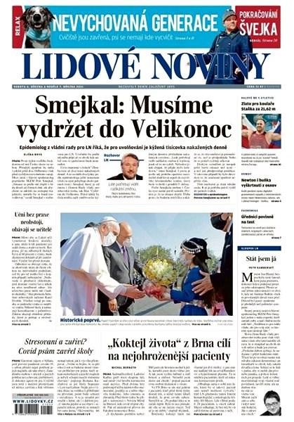 Lidové noviny - 06.03.2021 - Elektronické noviny