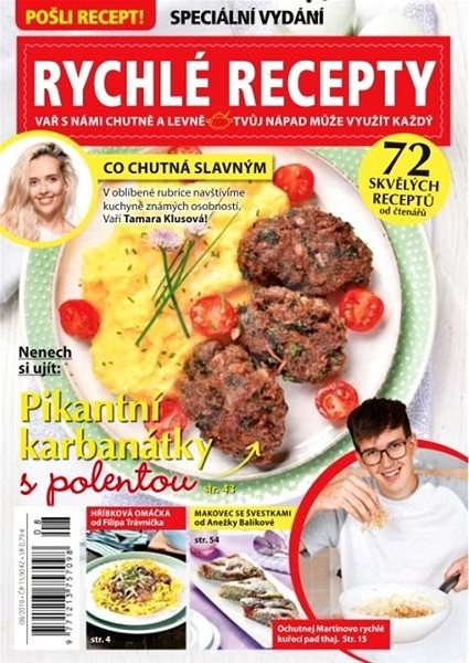 Pošli recept speciál - 8/2019 - Elektronický časopis