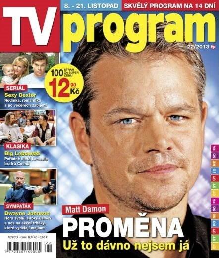 Tv Program - 22/13 - Elektronický časopis