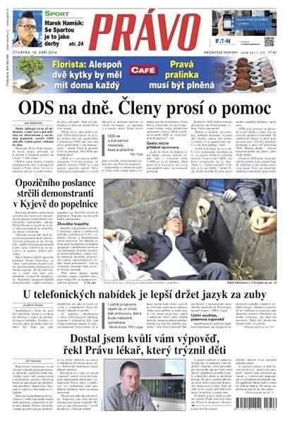 Právo - 18-09-2014 - Elektronické noviny