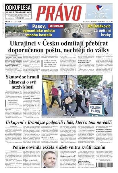 Právo - 19-09-2014 - Elektronické noviny