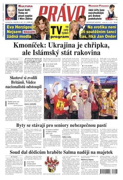 Právo - 20-09-2014 - Elektronické noviny