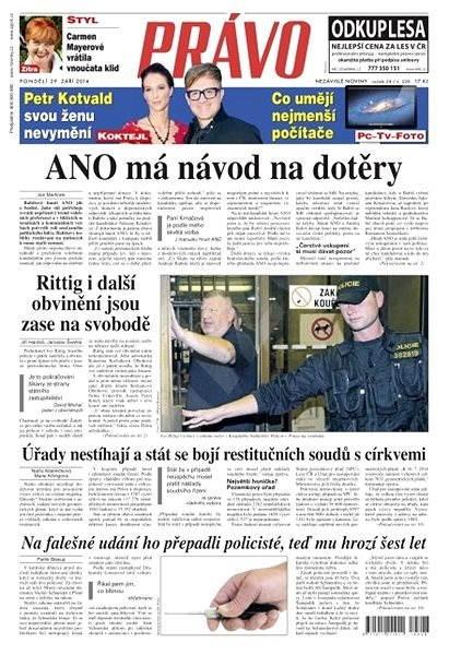 Právo - 29-09-2014 - Elektronické noviny