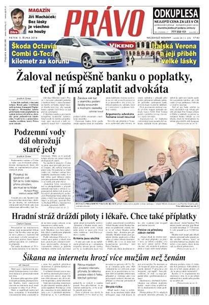 Právo - 03-10-2014 - Elektronické noviny