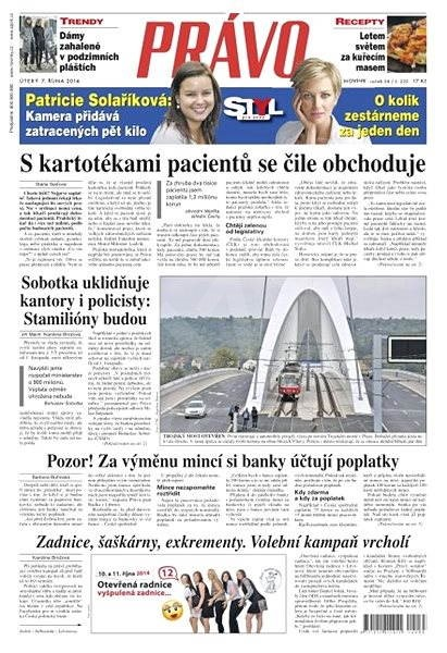 Právo - 07-10-2014 - Elektronické noviny