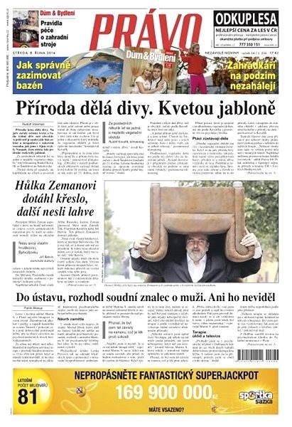 Právo - 08-10-2014 - Elektronické noviny