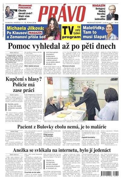 Právo - 11-10-2014 - Elektronické noviny