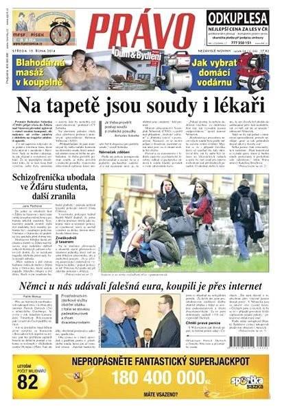 Právo - 15-10-2014 - Elektronické noviny