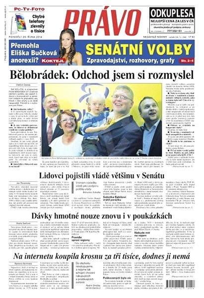 Právo - 20-10-2014 - Elektronické noviny