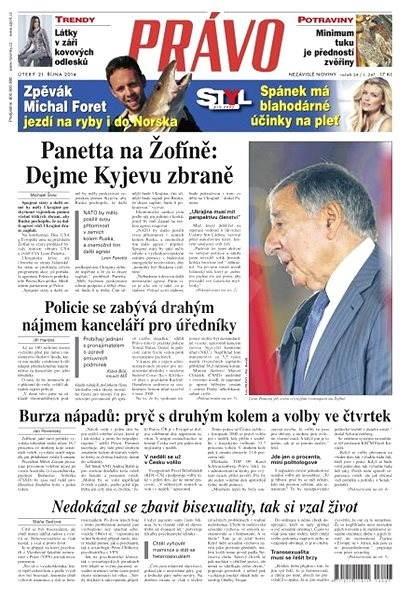 Právo - 21-10-2014 - Elektronické noviny