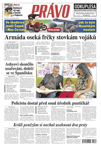 Právo - 24-10-2014 - Elektronické noviny