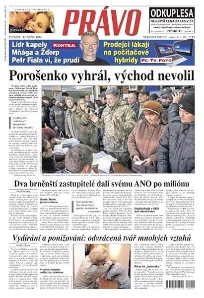 Právo - 27-10-2014 - Elektronické noviny