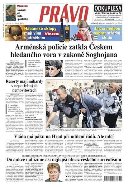 Právo - 31-10-2014 - Elektronické noviny