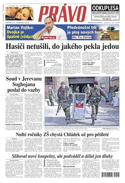 Právo - 03-11-2014 - Elektronické noviny