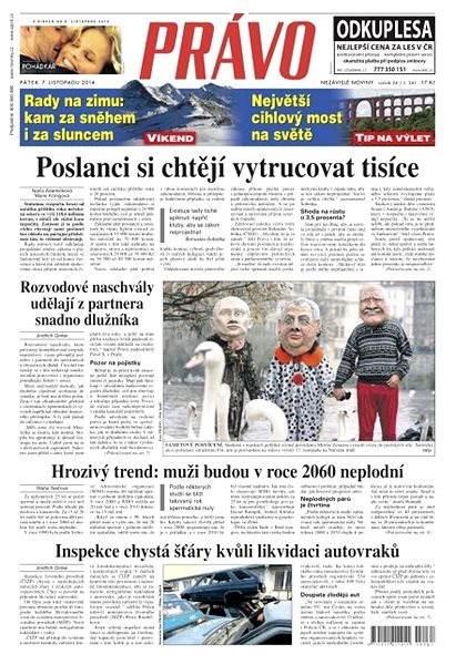 Právo - 07-11-2014 - Elektronické noviny