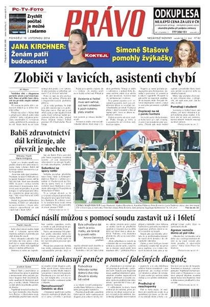 Právo - 10-11-2014 - Elektronické noviny