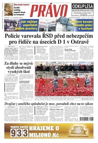 Právo - 12-11-2014 - Elektronické noviny